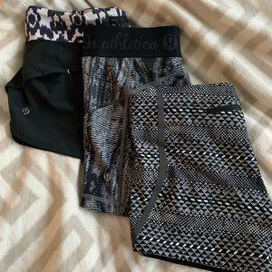 Lululemon & Nike short bundle